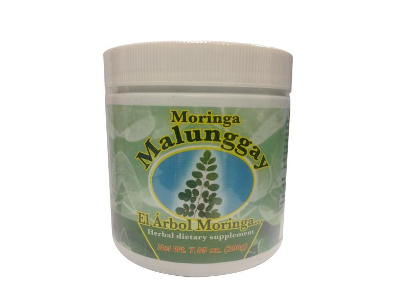 Moringa malunggay polvo