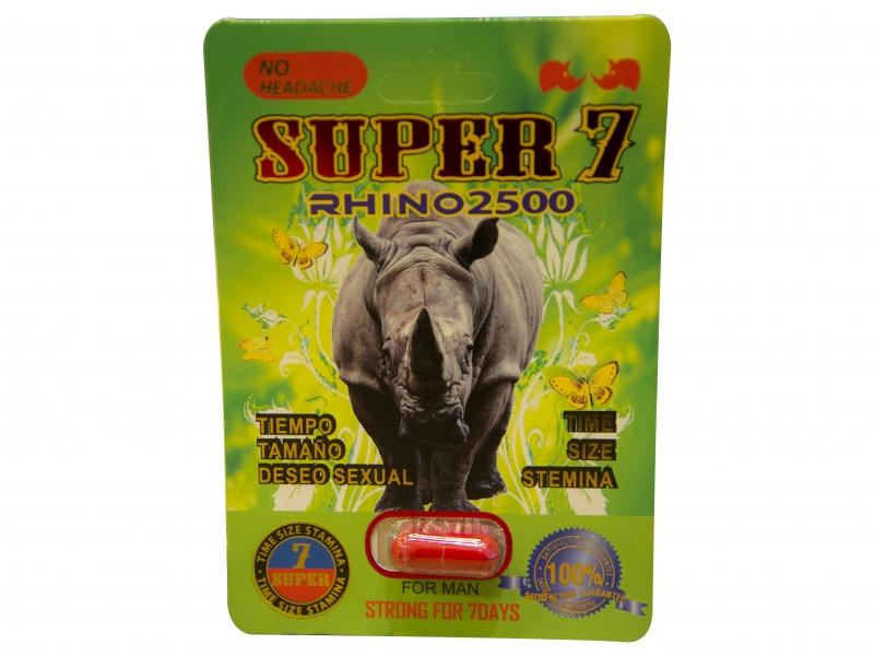 Super Rhino 7 Promocion 6 capsulas